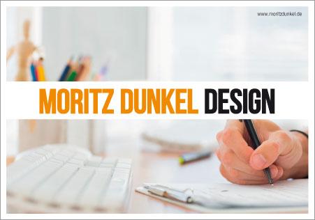 Grafikdesign Moritz Dunkel Imagebroschüre Titel