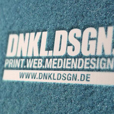 Ein echter Hingucker: Das Logo vom Logo-Designer Moritz Dunkel