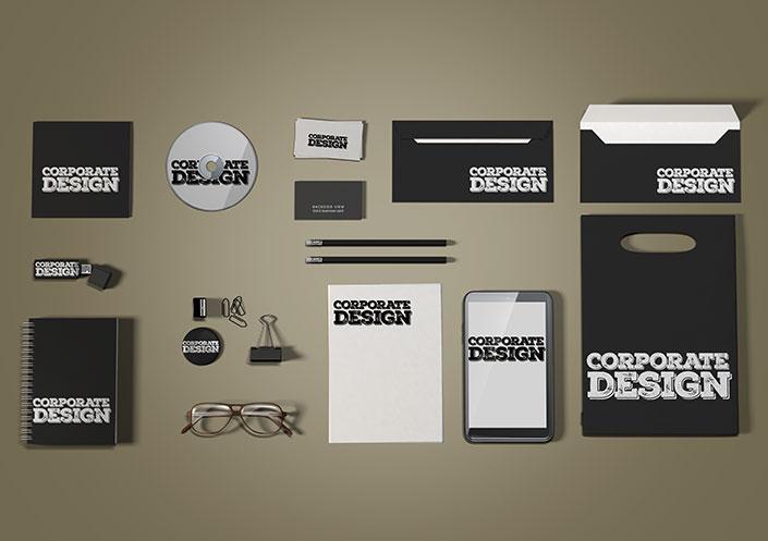 Corporate Design Erstellung von Moritz Dunkel Grafikdesign Köln