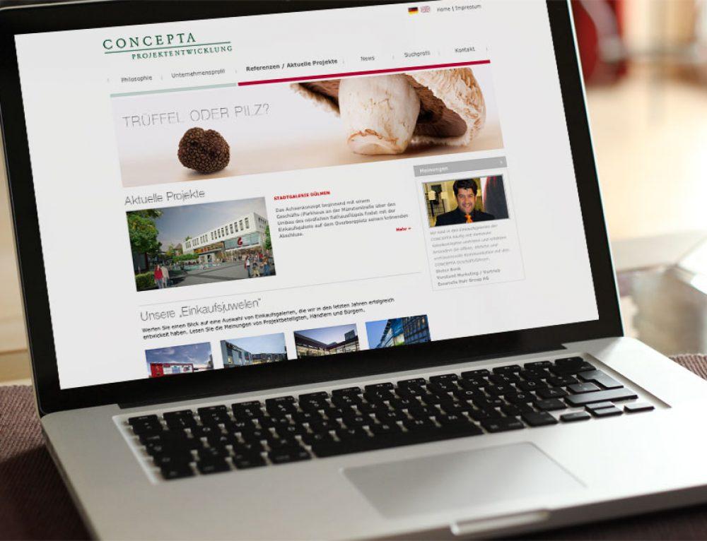 Design Website Concepta
