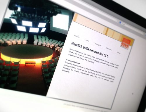 Imagebroschüre für Veranstaltungstechniker