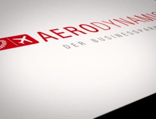 Logo Neugestaltung aerodynamic