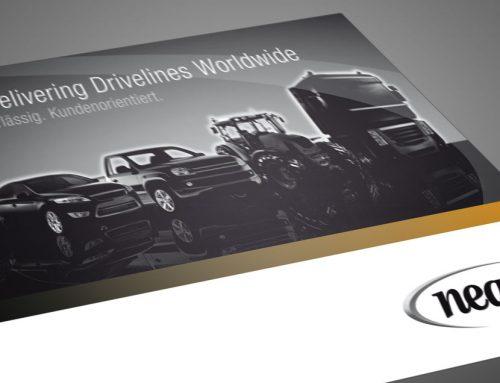 Broschüre Design neapco