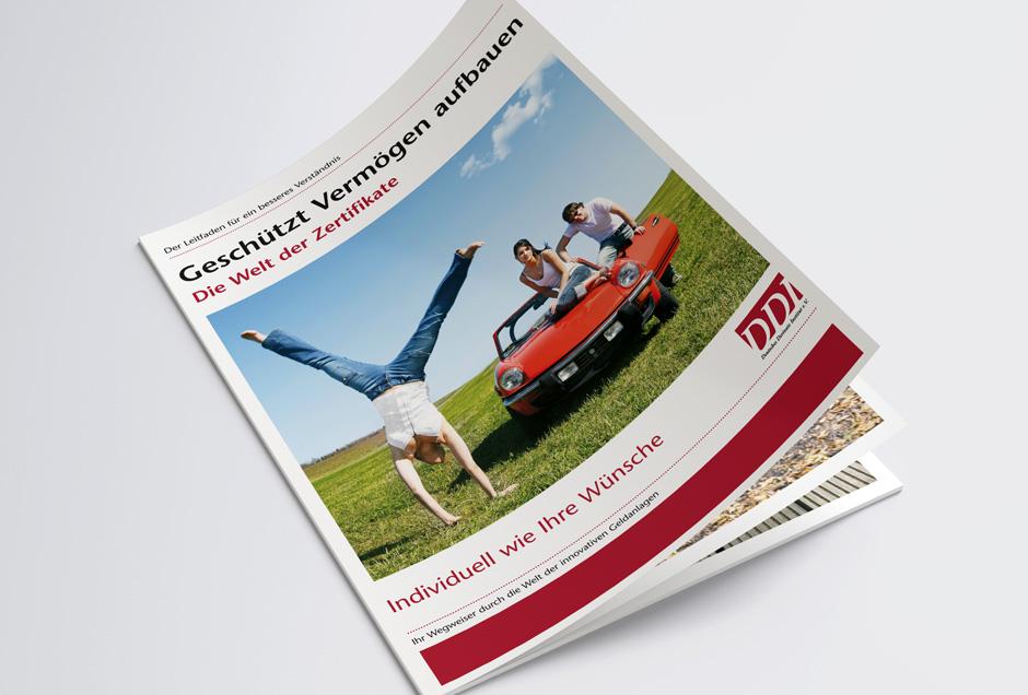 Profi-Design Imagebroschüre
