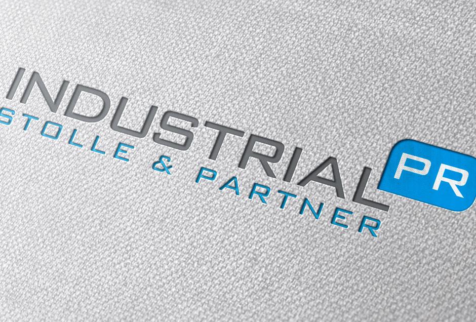 Gestaltung Firmenlogo für Industrial PR