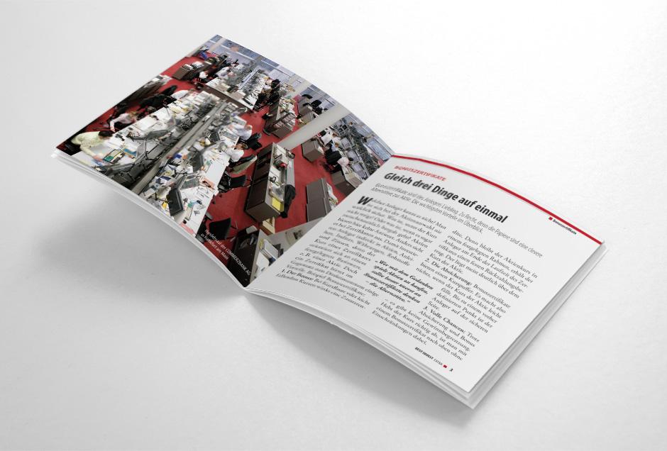 koelner grafikdesign fuer commerzbank cd booklet