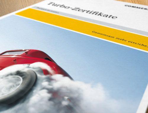 Gestaltung Broschüre Commerzbank