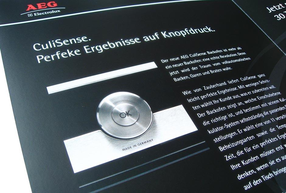 Werbebroschüre Design vom Kölner Mediendesigner
