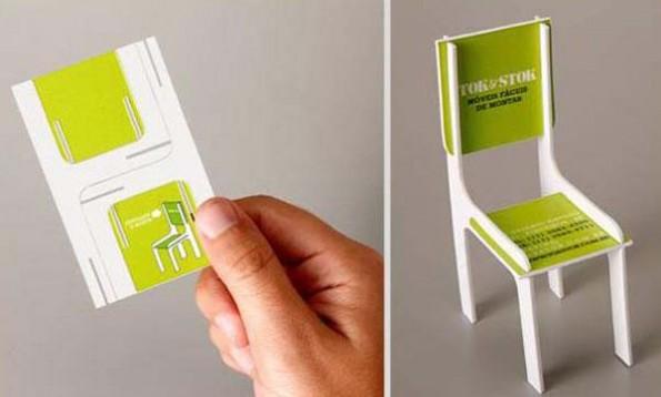 Kreative Visitenkarten-Gestaltung