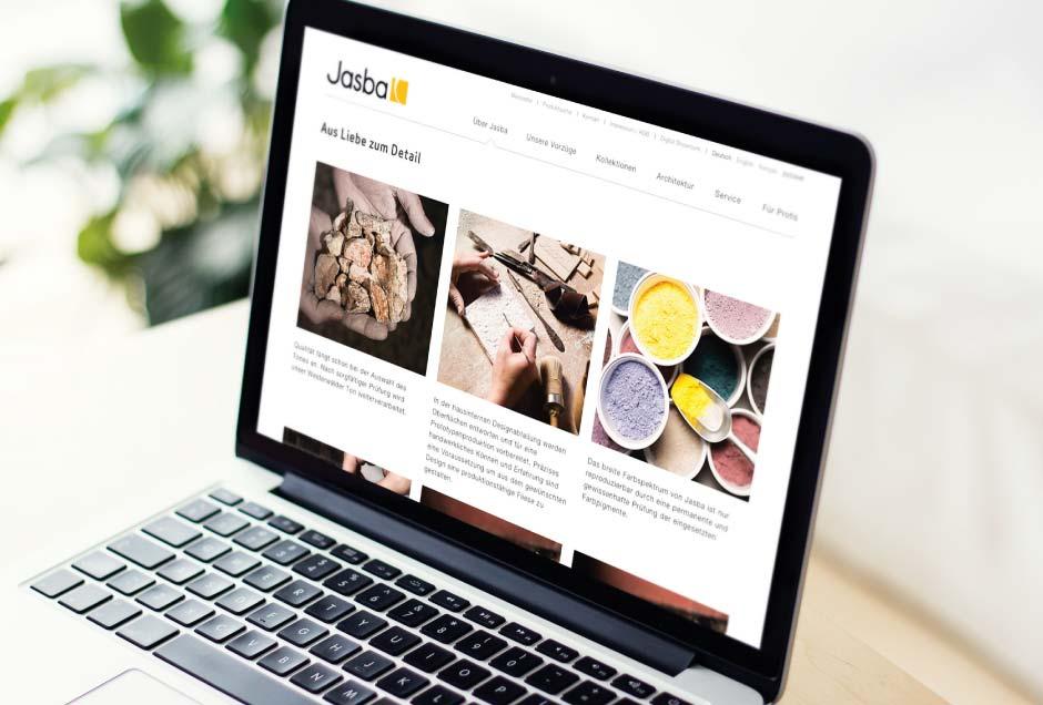 Website Gestaltung von Moritz Dunkel, Grafikdesign Köln