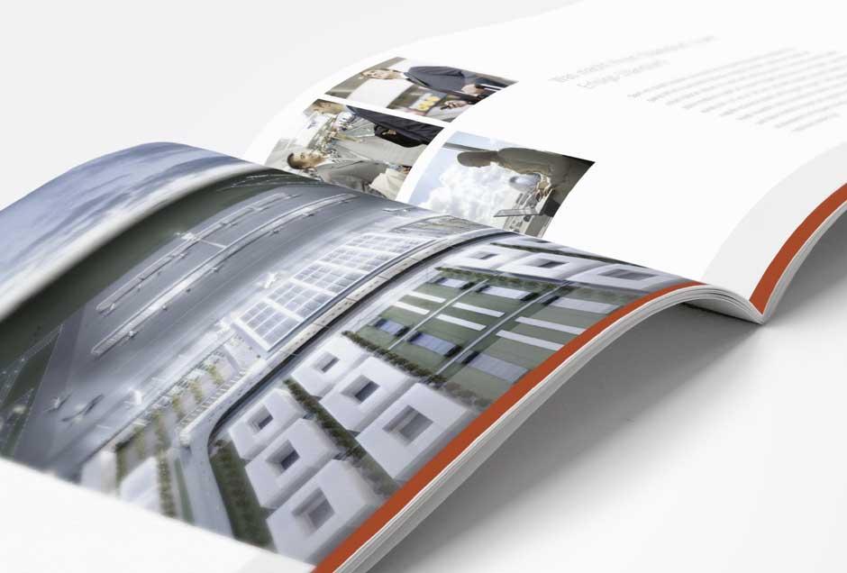 Broschüre gestaltet vom Grafik-Profi