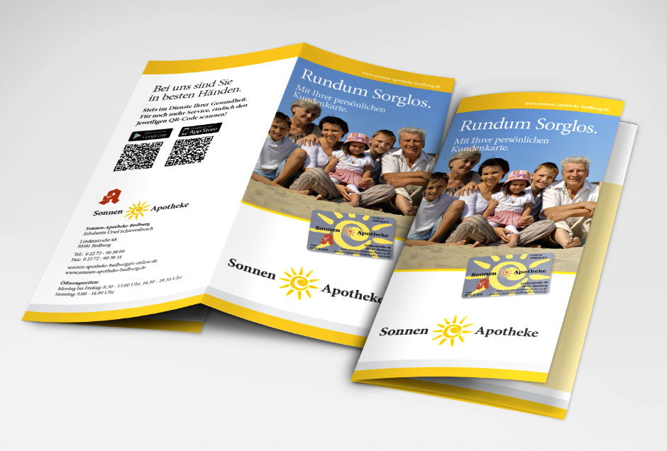 Prospekt- und Flyer-Erstellung von Moritz Dunkel Grafikdesign