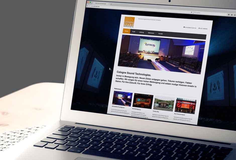 Web-Entwicklung für den Veranstaltungstechniker