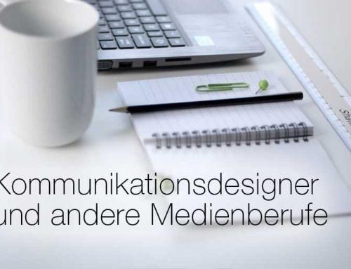 Kommunikationsdesigner und andere Medienberufe