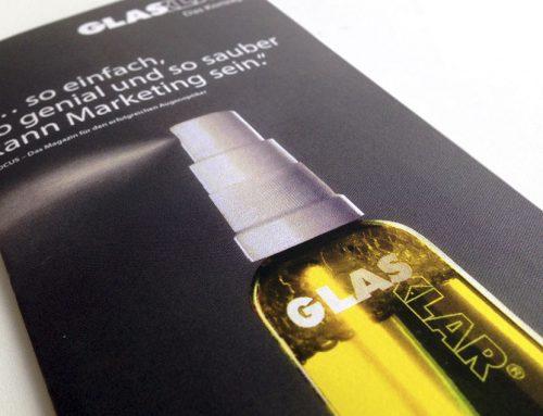 Prospekt Gestaltung Glasklar
