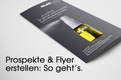 Flyerdesign von Moritz Dunkel Grafikdesign