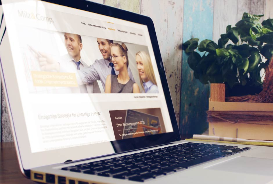 Neues Web-Design für den Speaker