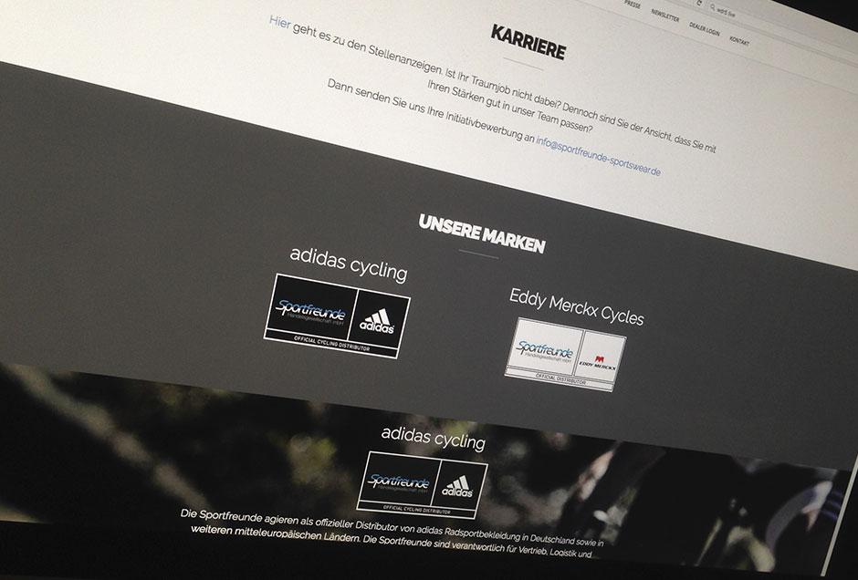 Neue Web-Gestaltung für die Vertriebsgesellschaft