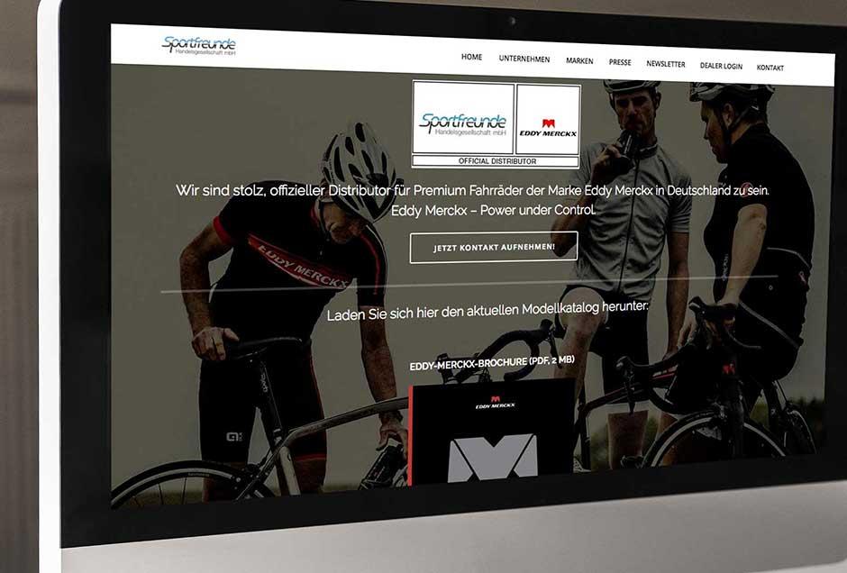 Neues Web-Design für Vertriebler