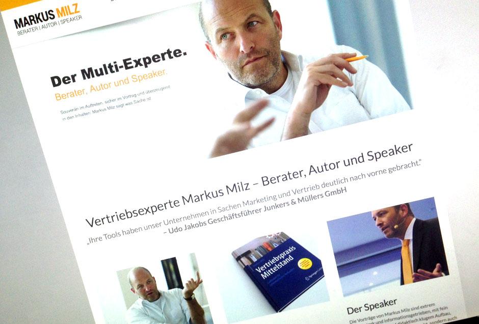 Täglich Brot: Webseiten Erstellen für Coach und Speaker