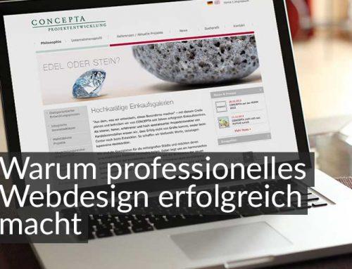 Professionelle Website-Gestaltung macht erfolgreich