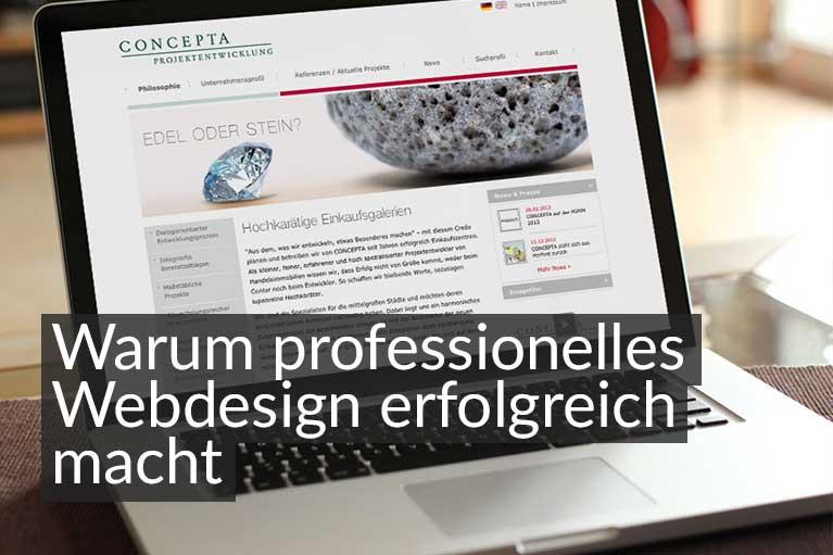 Webdesign gestalten lassen von Moritz Dunkel Grafikdesign