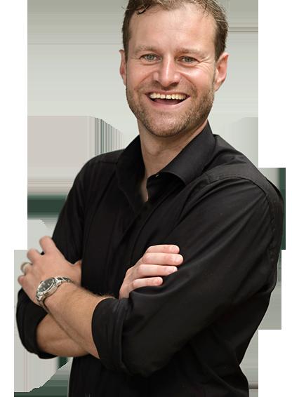 Werbegrafiker und Webdesigner Moritz Dunkel