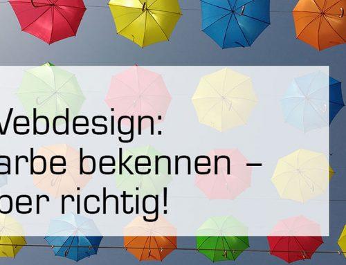 Farben in der Website Gestaltung