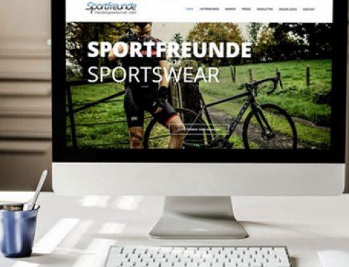 Webentwicklung Sportfreunde