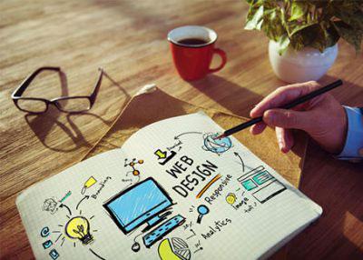Homepage erstellen Webdesign