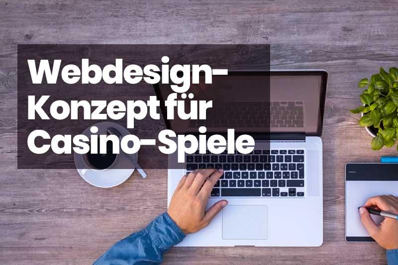 webdesign konzept casino