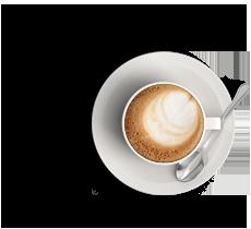 Kaffee des Kölner Logodesigners