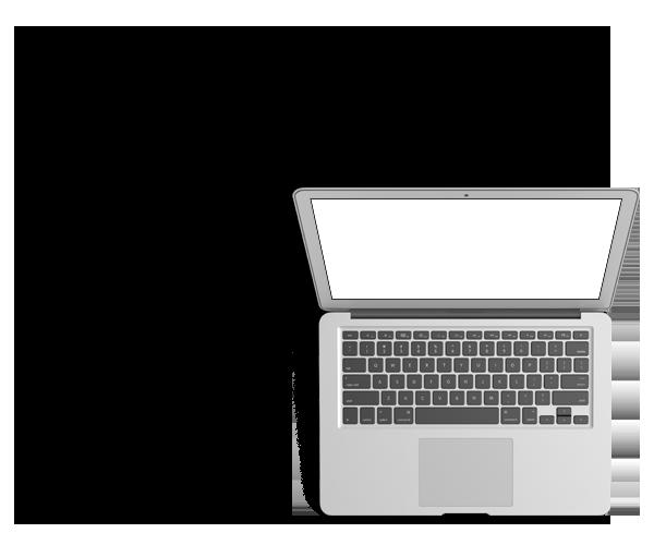 Macbook des Kölner Webdesigners